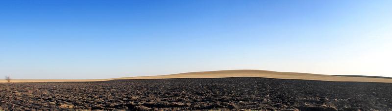 Nádherná terénní vlna u Mečíře