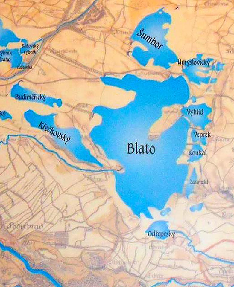 Historická mapa 3 - výřez